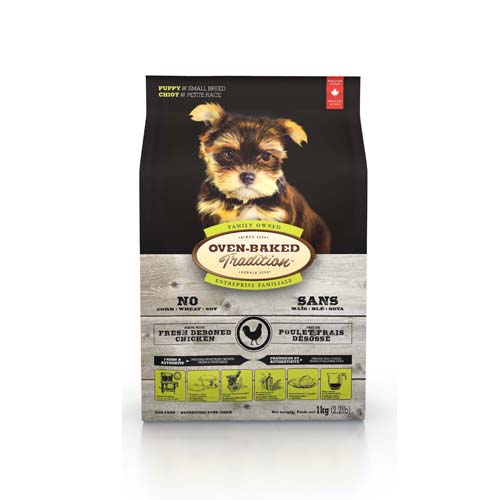 OBT Oven-Baked Tradition Puppy Small Breed Chicken 1 kg