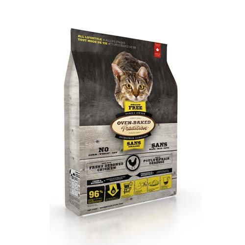OBT Oven-Baked Tradition Cat All Life Stage Grain Free Chicken 1,13 kg