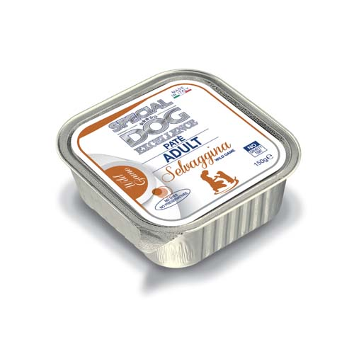 MONGE SPECIAL DOG EXCELLENCE ADULT pate Wild zverina 150g vanička