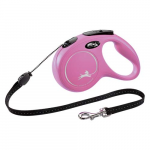 flexi New Classic lanko M 5m do 20kg pink