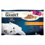 GOURMET PERLE 3+1 Multipack 4x85g - mini filetky v šťave