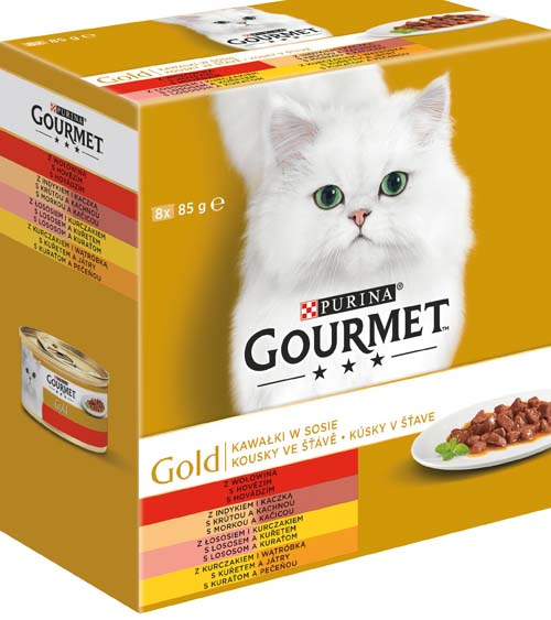 GOURMET GOLD 8x85g mix