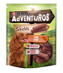 PURINA ADVENTUROS Sticks 120g byvolia príchuť