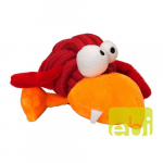 EBI COOCKOO DOG TOY BOBBLE GIANT, 10CM, KNOT-PLUSH RED