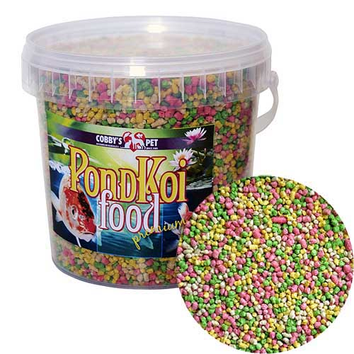 COBBYS PET POND GRANULES COLOUR SMALL  1l (0,16kg) vedro