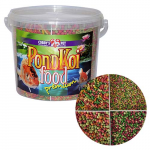 COBBYS PET POND MIX QUATTRO GROW 800 g (5,5l) granule S + M + L + sticks mix