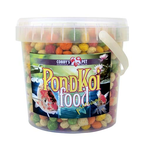 COBBYS PET POND GRANULES COLOUR XXL 1l