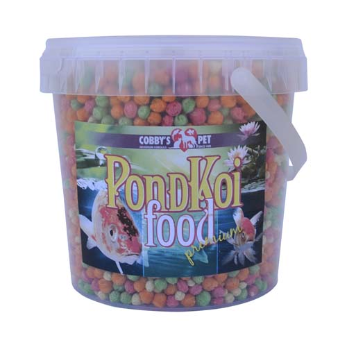 COBBYS PET POND GRANULES COLOUR LARGE 1l