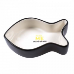 DUVO+ Feeding Bowl Fish Stone Feed Me Meow 17x10,5x4,5cm