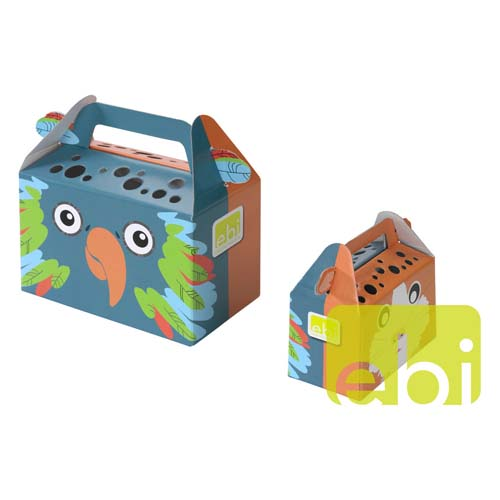 EBI PAPER TRANSPORT BOX -LARGE- / ca.27,5x14,2x15,4cm