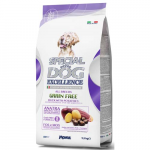 MONGE SPECIAL DOG EXCELLENCE ALL BREEDS GRAIN FREE kačica + zemiaky 2,5kg 29/18 superprémium