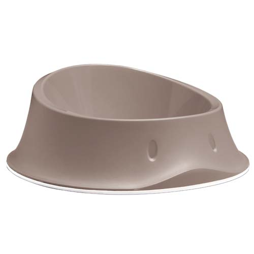 STEFANPLAST Chic bowl light dove grey 1l miska protišmyk.